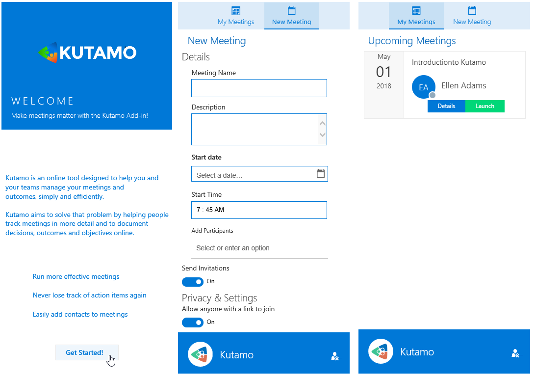 Kutamo Office 365 Application